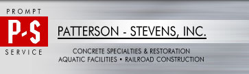 Patterson Stevens: Concrete Restoration Contractor, Swimming Pool Contractor, Railroad Contractor